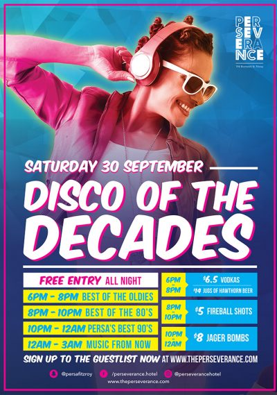 Disco of the Decades – September