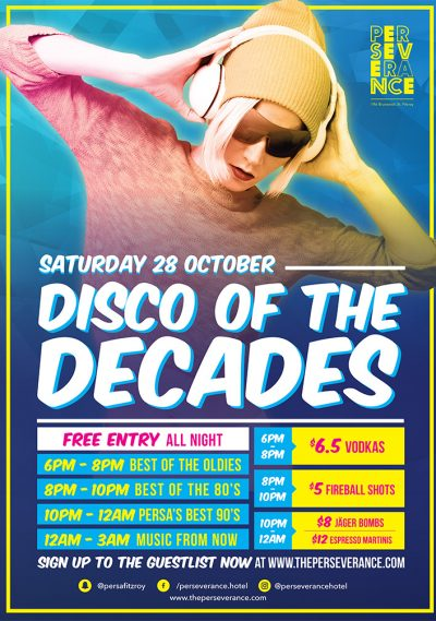 Disco of the Decades – October