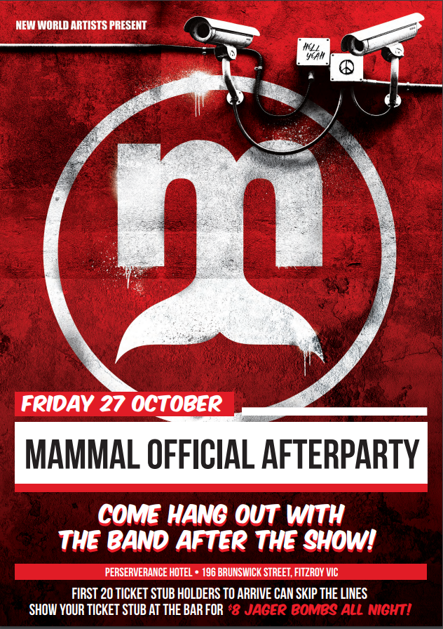 Mammal Official Afterparty