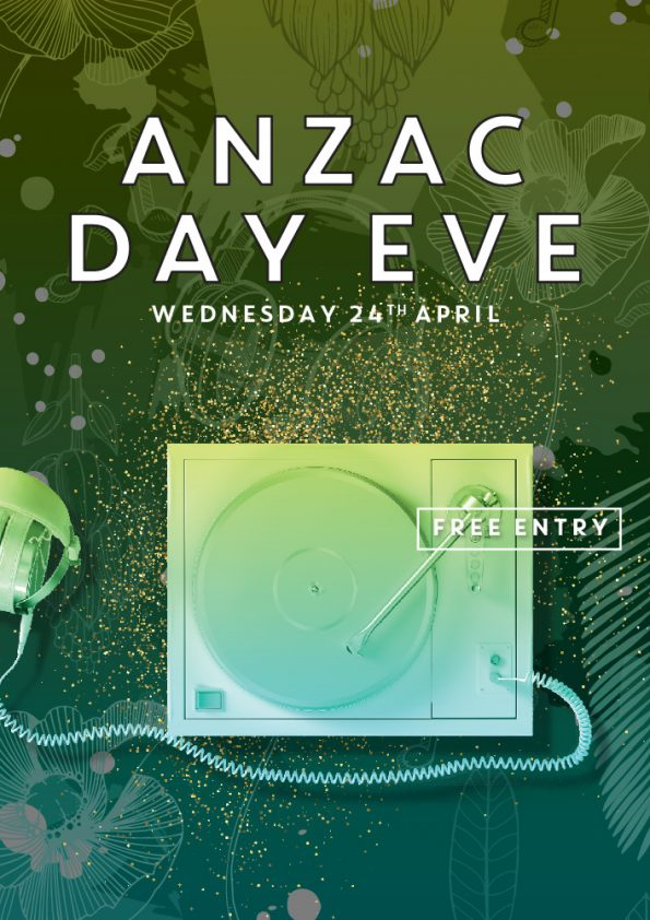 Anzac Day Eve Party