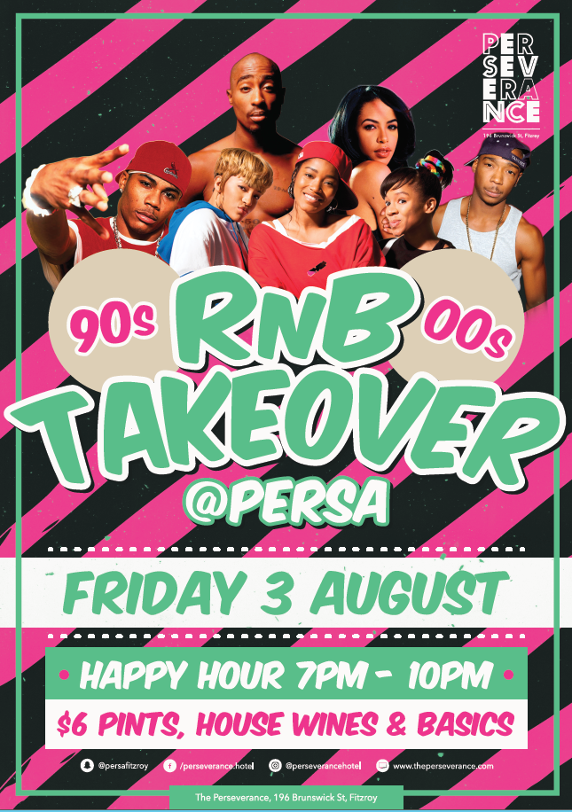 RNB Takeover August
