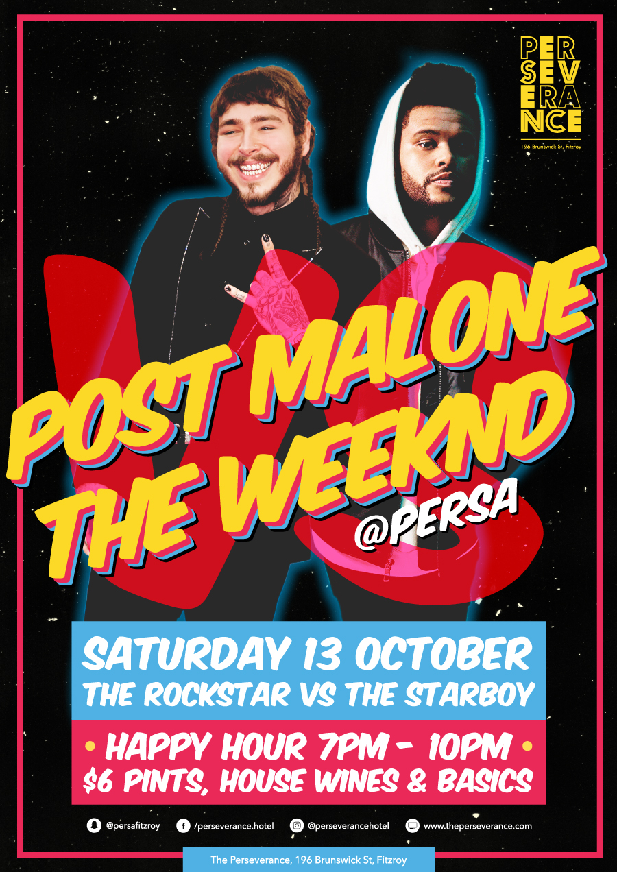 Post Malone VS The Weeknd / Perseverance Bar