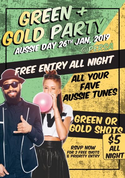 Green & Gold Party